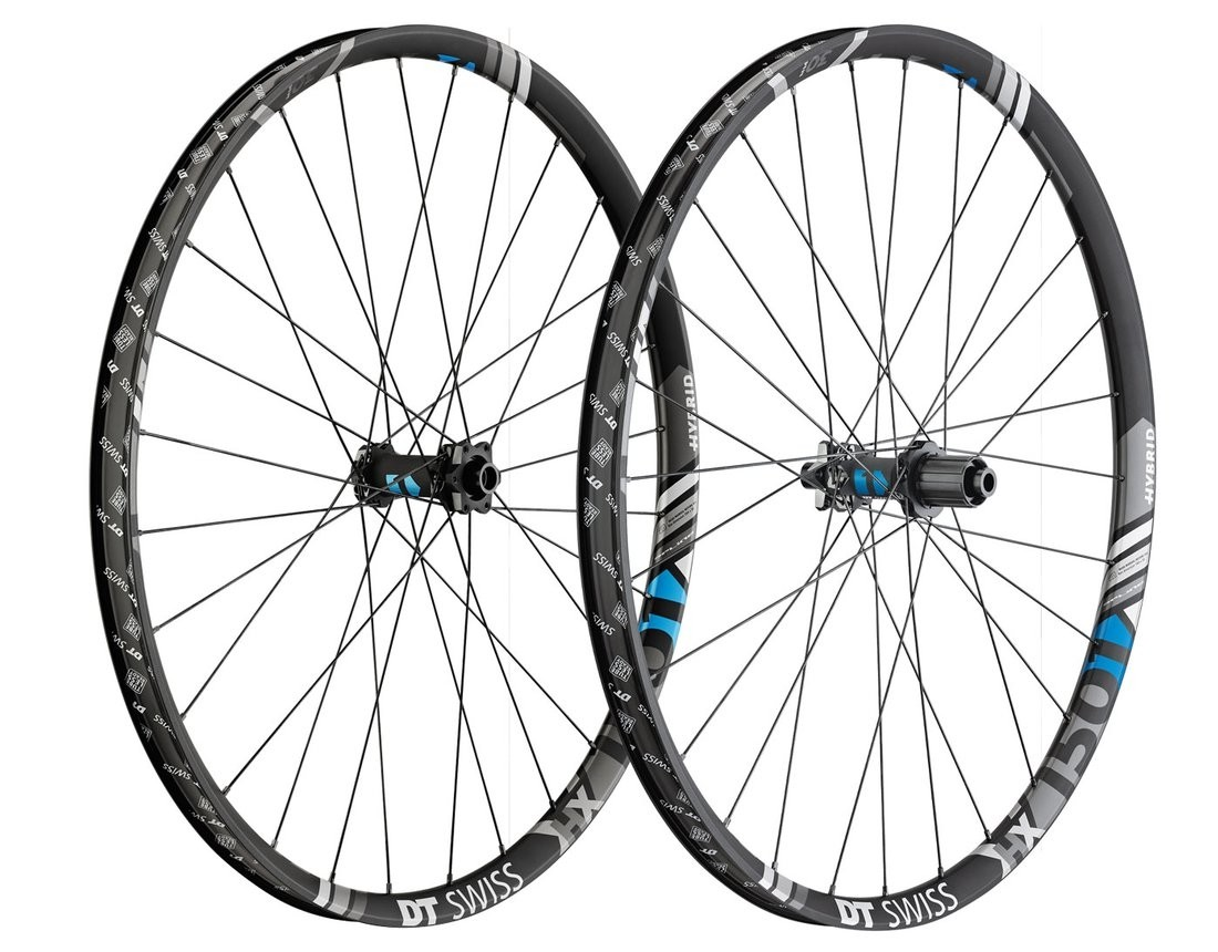 "DT Swiss HX1501 Spline One 27.5"" 25mm HYBRID Boost Laufradsatz"