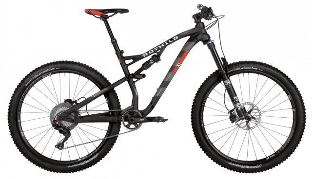 X1 FS 27.5 Comp schwarz-matt