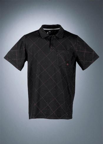 Rotwild Allover Check Polo black