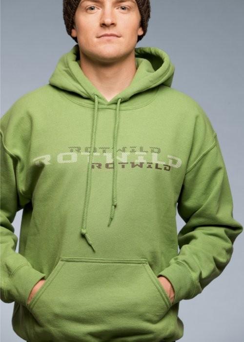 Rotwild Logo Hoodie green