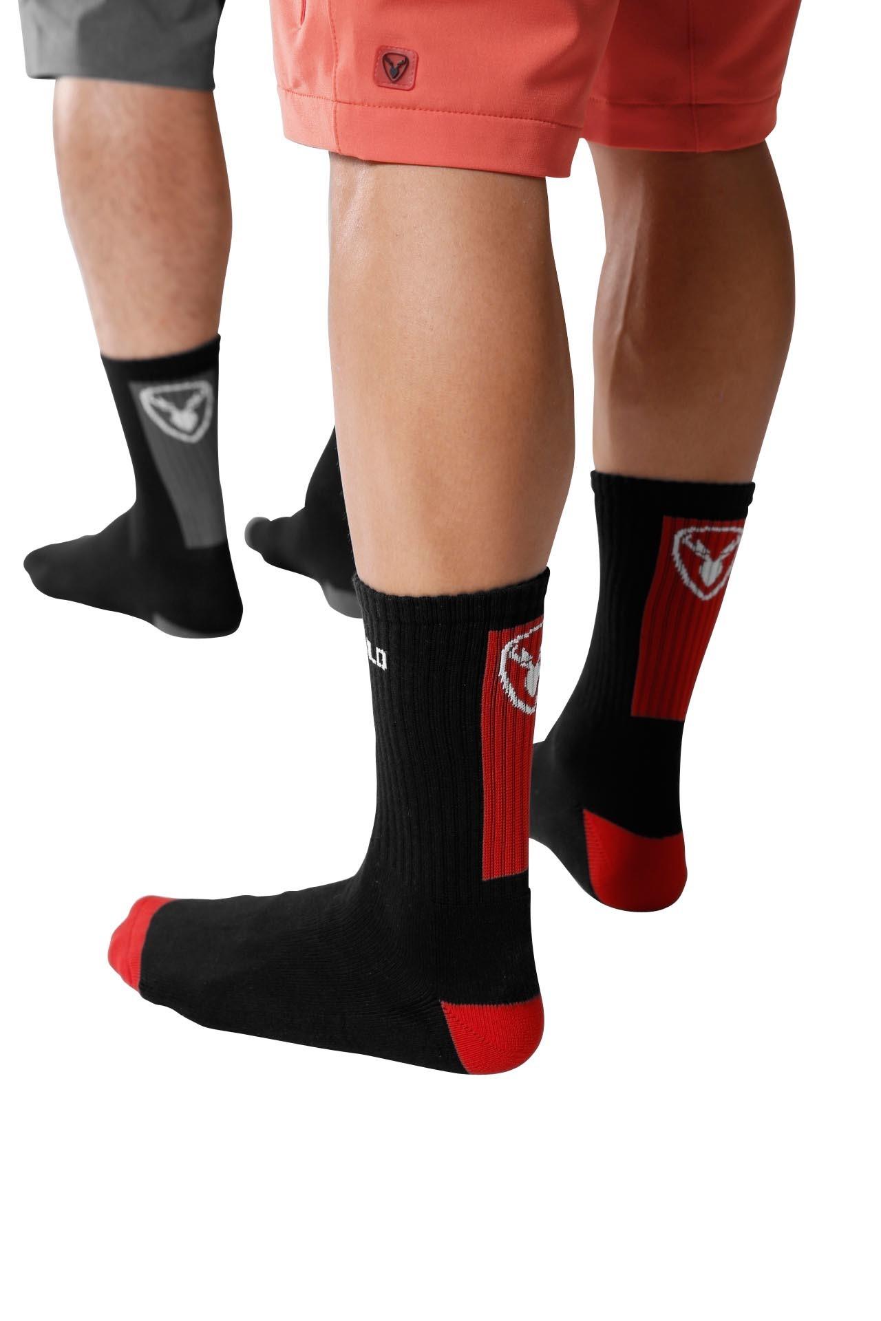 Rotwild Socke high grau