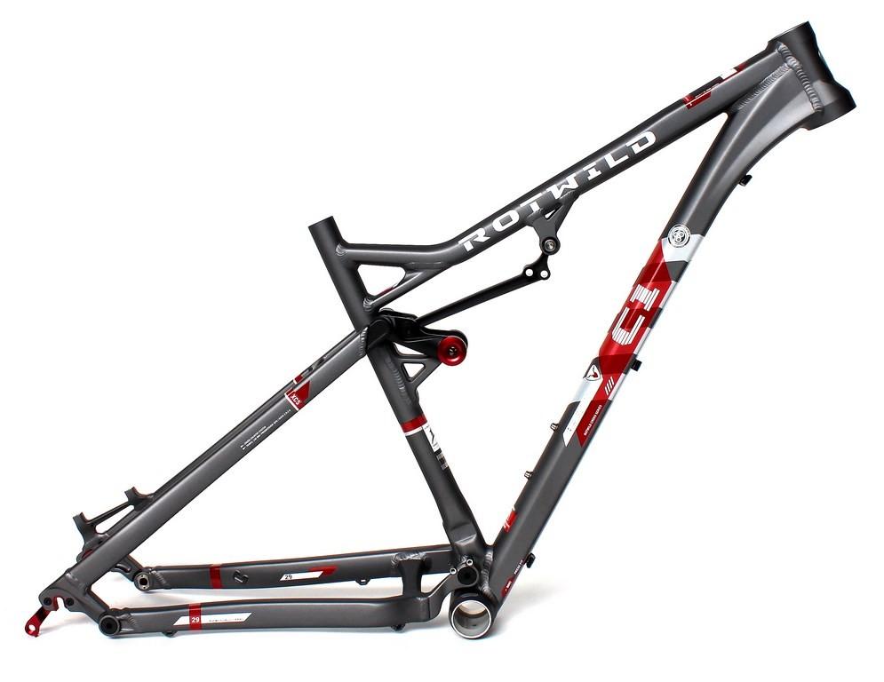 C1 FS 29 Rahmen grey-matt