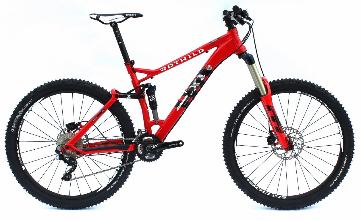 X1 FS 27.5 Pro hot red