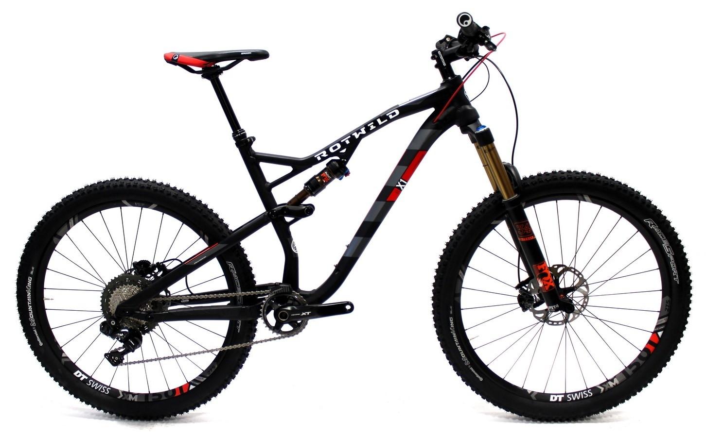 X1 FS 27.5 Evo schwarz-matt