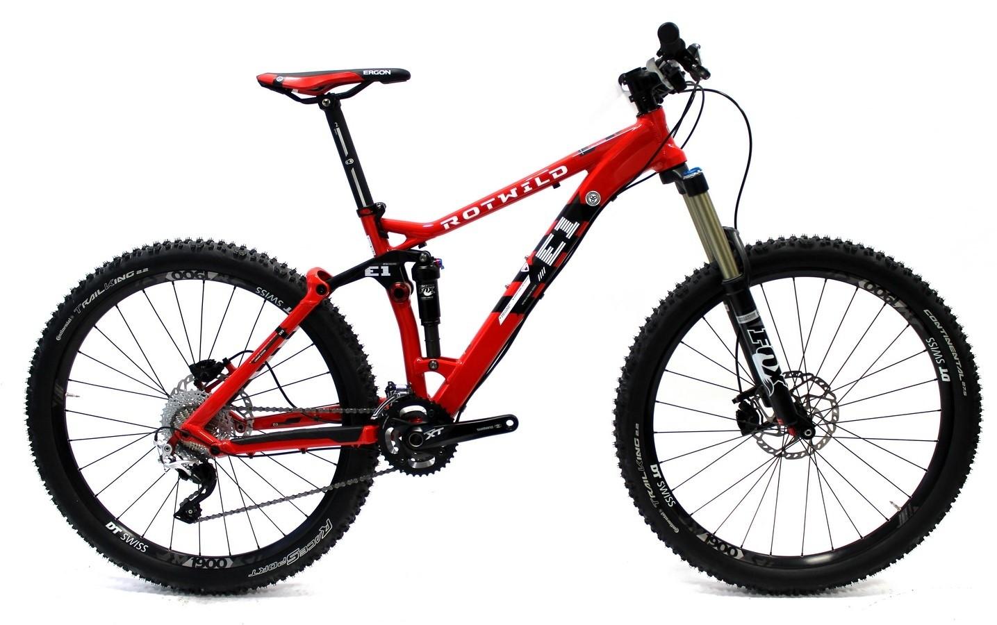 E1 FS 27.5 Pro light hot red