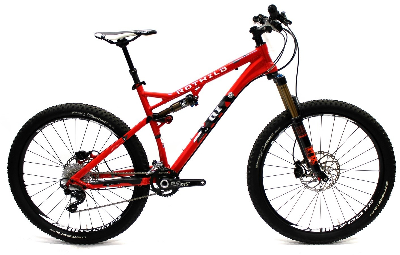 Q1 FS 27.5 Pro hot red