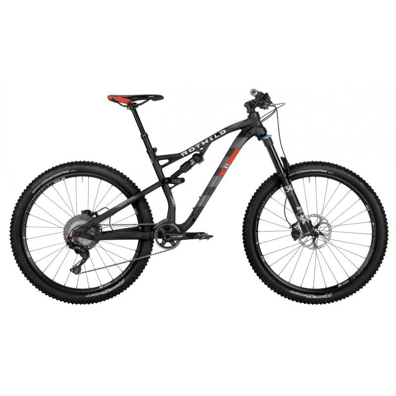 X1 FS 27.5 Pro DI2 schwarz-matt