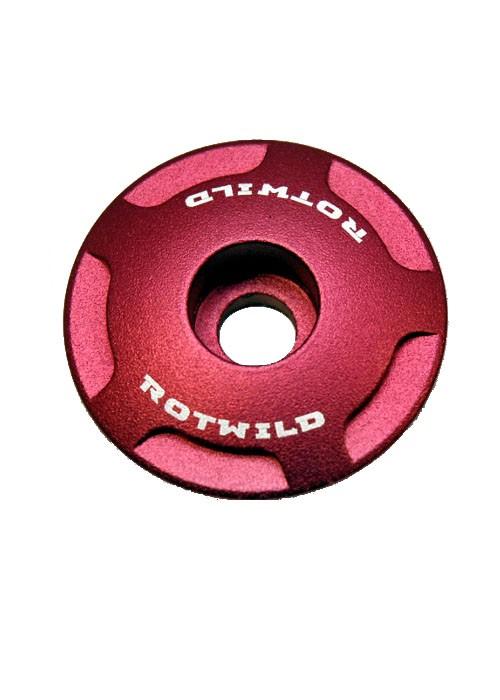 ROTWILD CNC AHEAD CAP RED