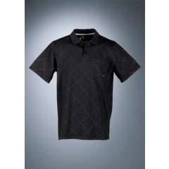 Rotwild Allover Check Polo black