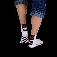 Rotwild Socke weiß 3er Pack