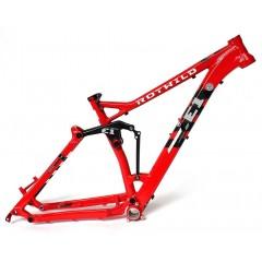 E1 FS 27.5 Rahmen hot red
