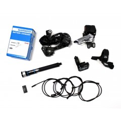 Shimano XT Di2 2x11-fach M8050 Upgrade Kit intern